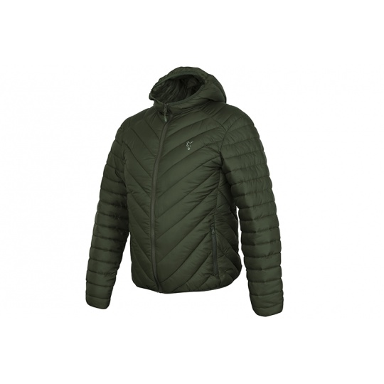 Fox Bunda Collection quilted Jacket Green / Silver