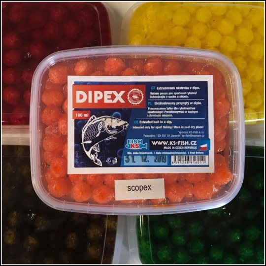 KS FISH Dipex 100ml - ovocný nářěz