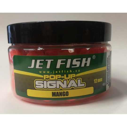 Jet Fish Pop-up Signal 12mm MANGO Novinka !