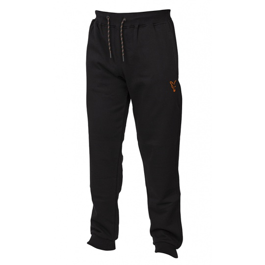 Fox Tepláky Collection Black/Orange Joggers - vel. L