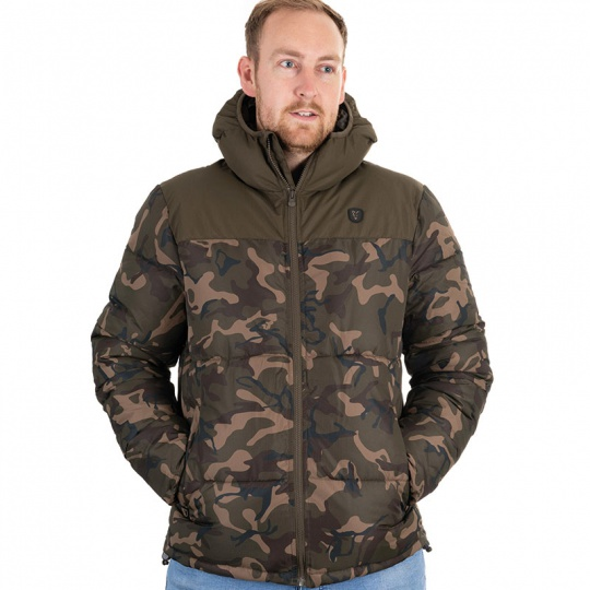Fox International Bunda Ripstop Jacket Camo/Khaki vel. XL