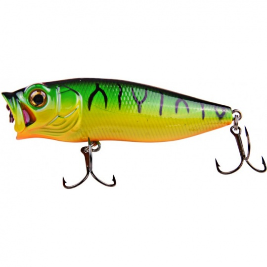 Effzett Wobler Baby Popper 65mm - Fire Shark