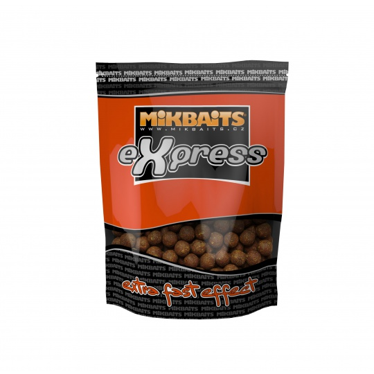 Mikbaits eXpress Boilie 1kg 18mm - Ananas N-BA