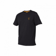 Fox Coll black orange T-Shirt vel. XXL