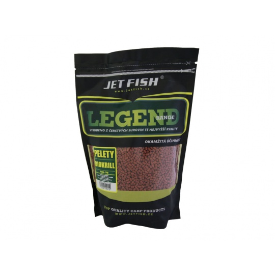 Jet Fish Legend Range Pelety 4mm 1kg - BROSKEV